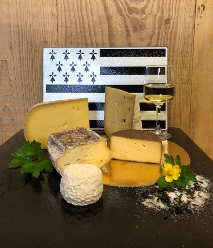 Plateau de fromage breton