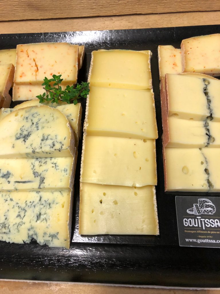 Plateau de fromage à raclette