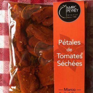 pétales de tomates sechées
